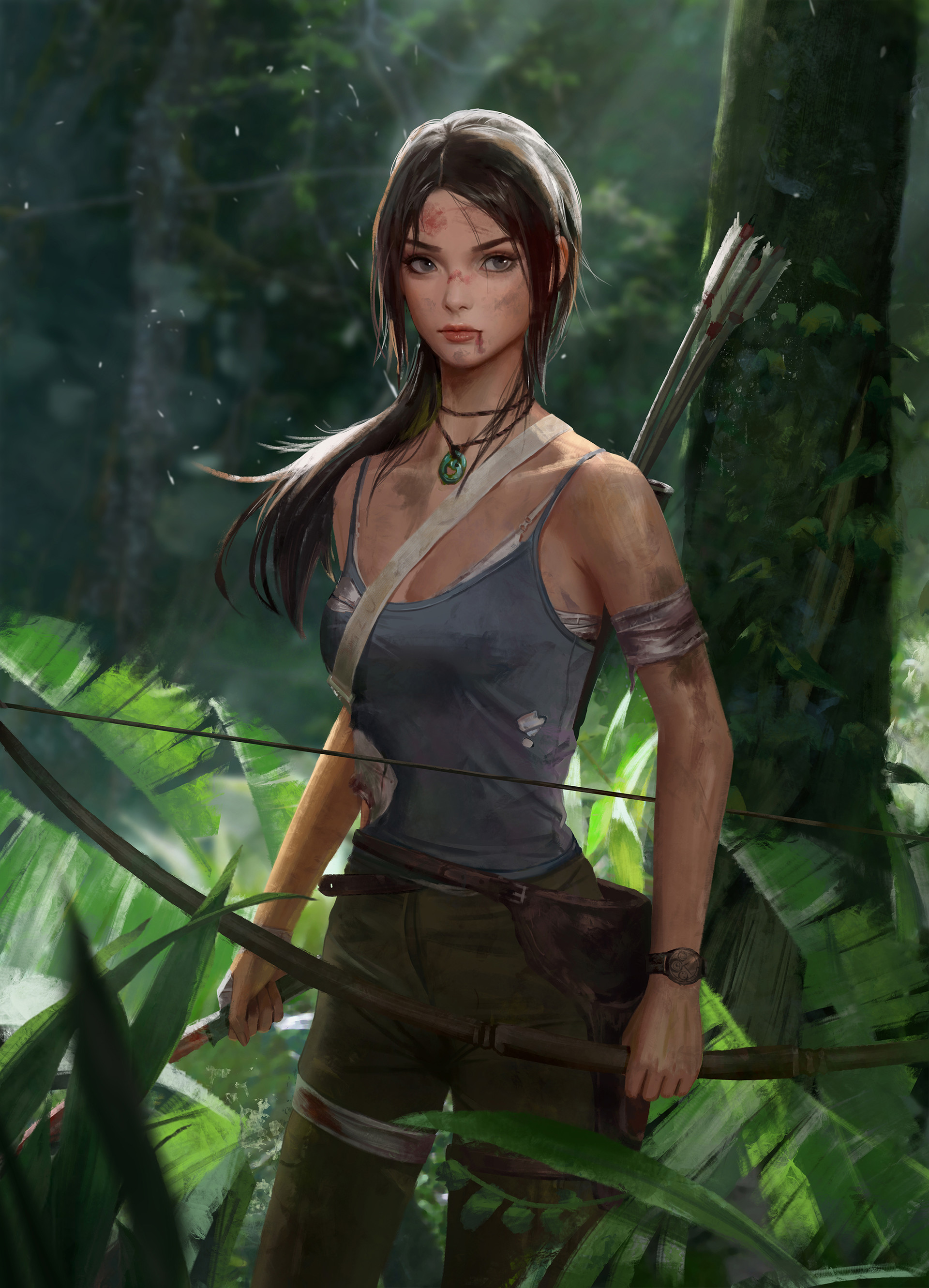 by 块破碎的 玉 - Rise of the Tomb Raider