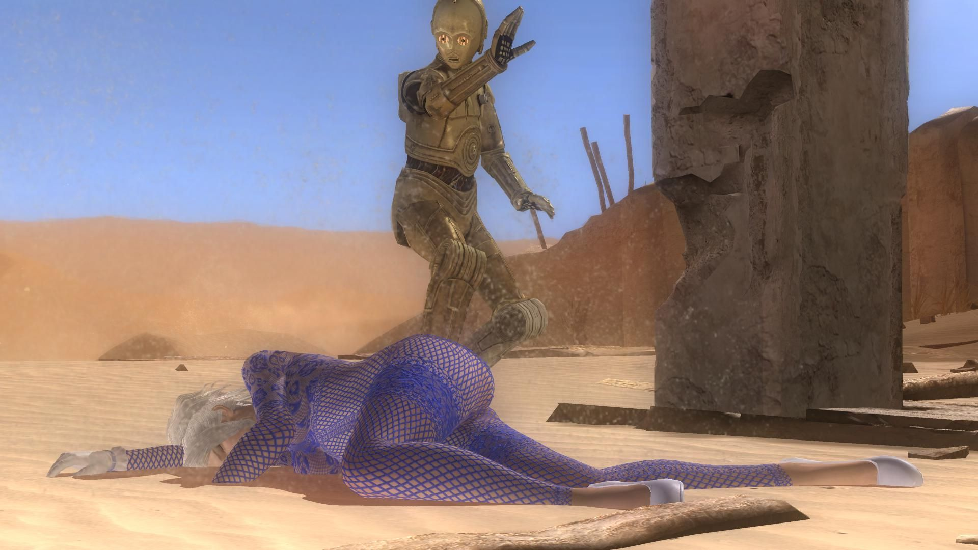C3PO Damaged - Dead or Alive 5: Last Round