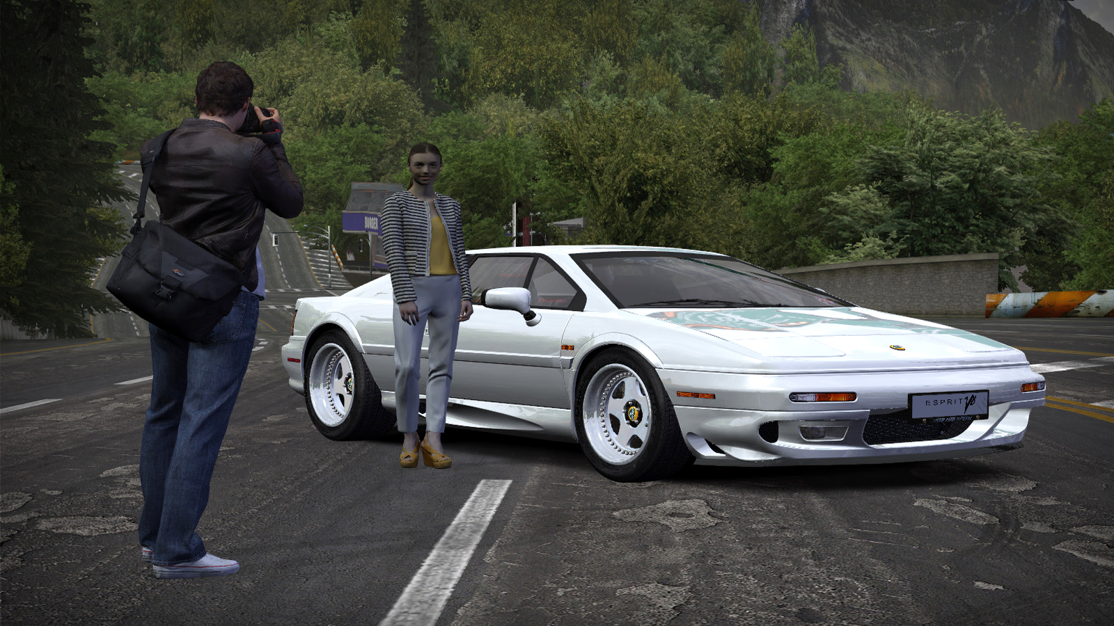 Lotus Esprit V8 S4 by Alex.Ka. - Need for Speed: Most Wanted (2005) Lotus Esprit V8, Автомобиль