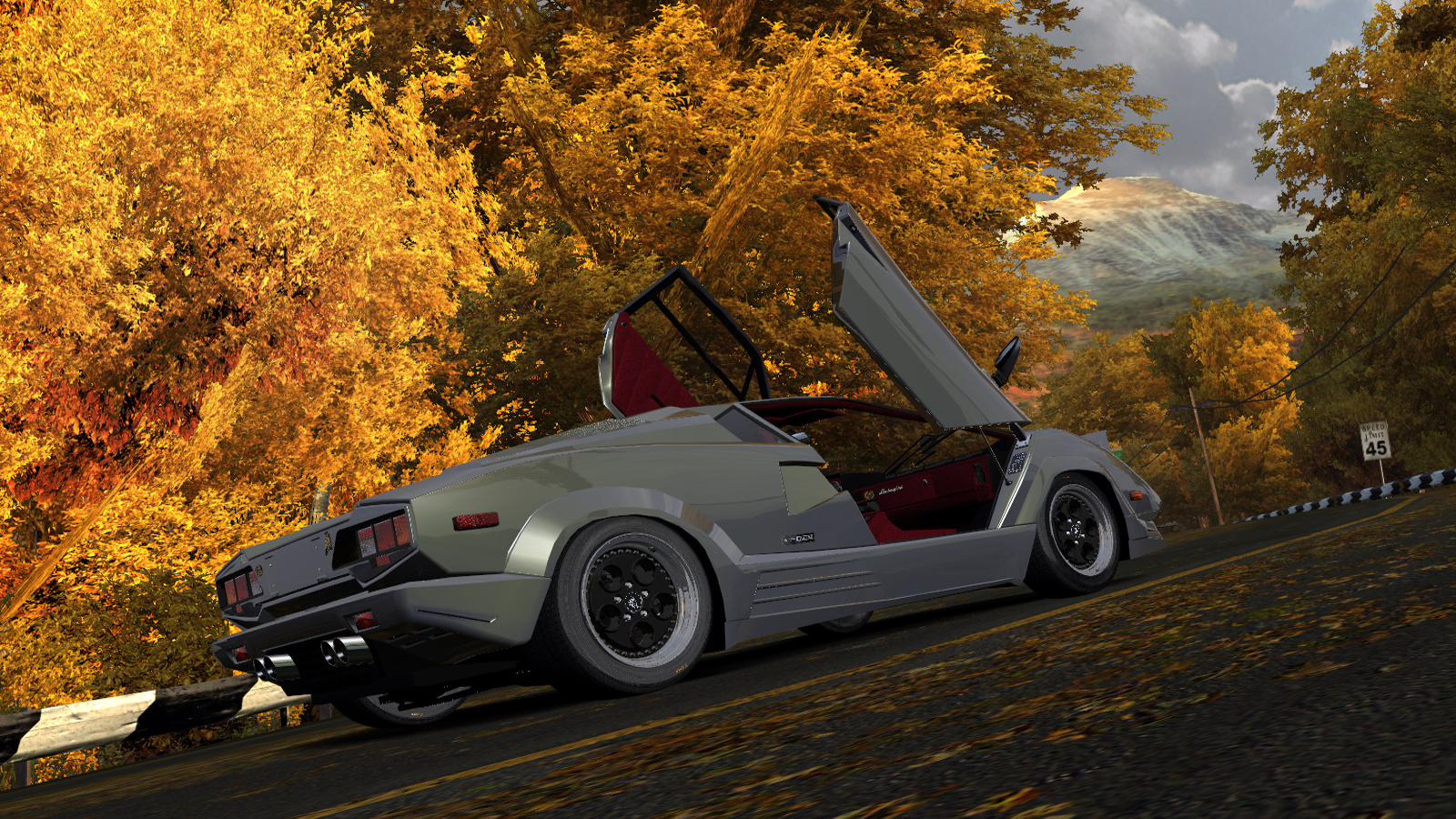 Lamborghini Countach 25th Anniversary by Alex.Ka. - Need for Speed: Most Wanted (2005) Lamborghini Countach, Автомобиль