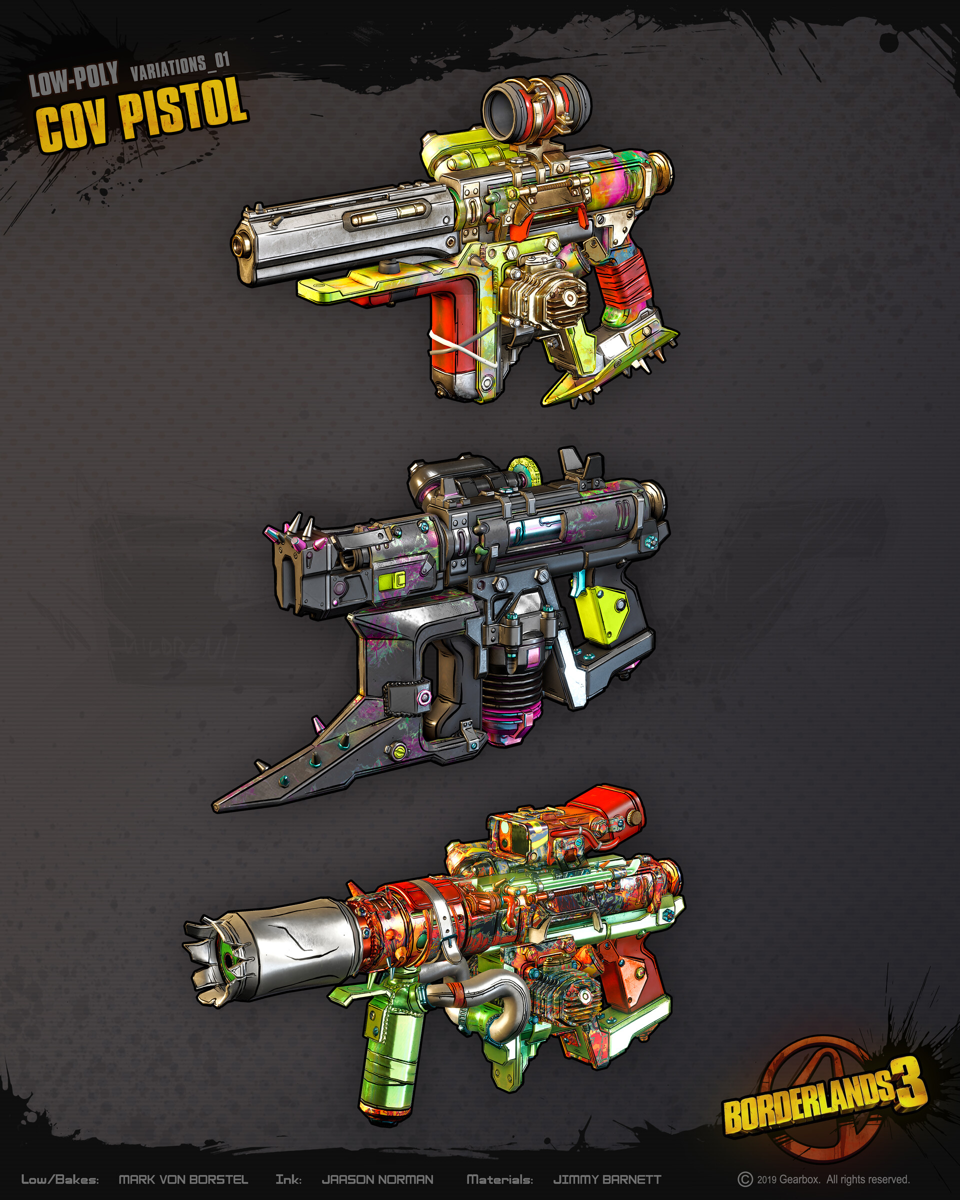 Оружие - Borderlands 3