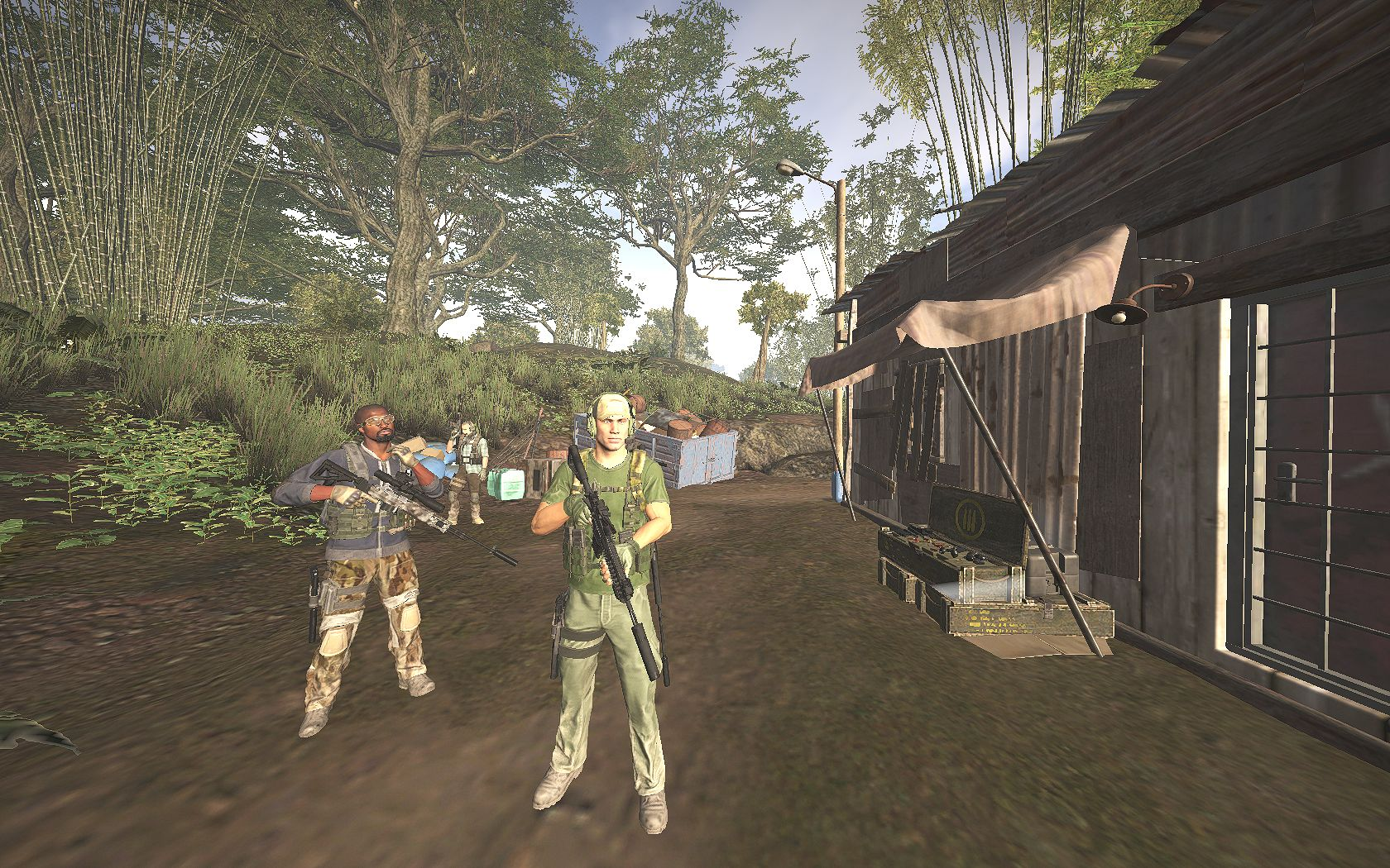 Компашка на отдыхе - Tom Clancy's Ghost Recon: Wildlands