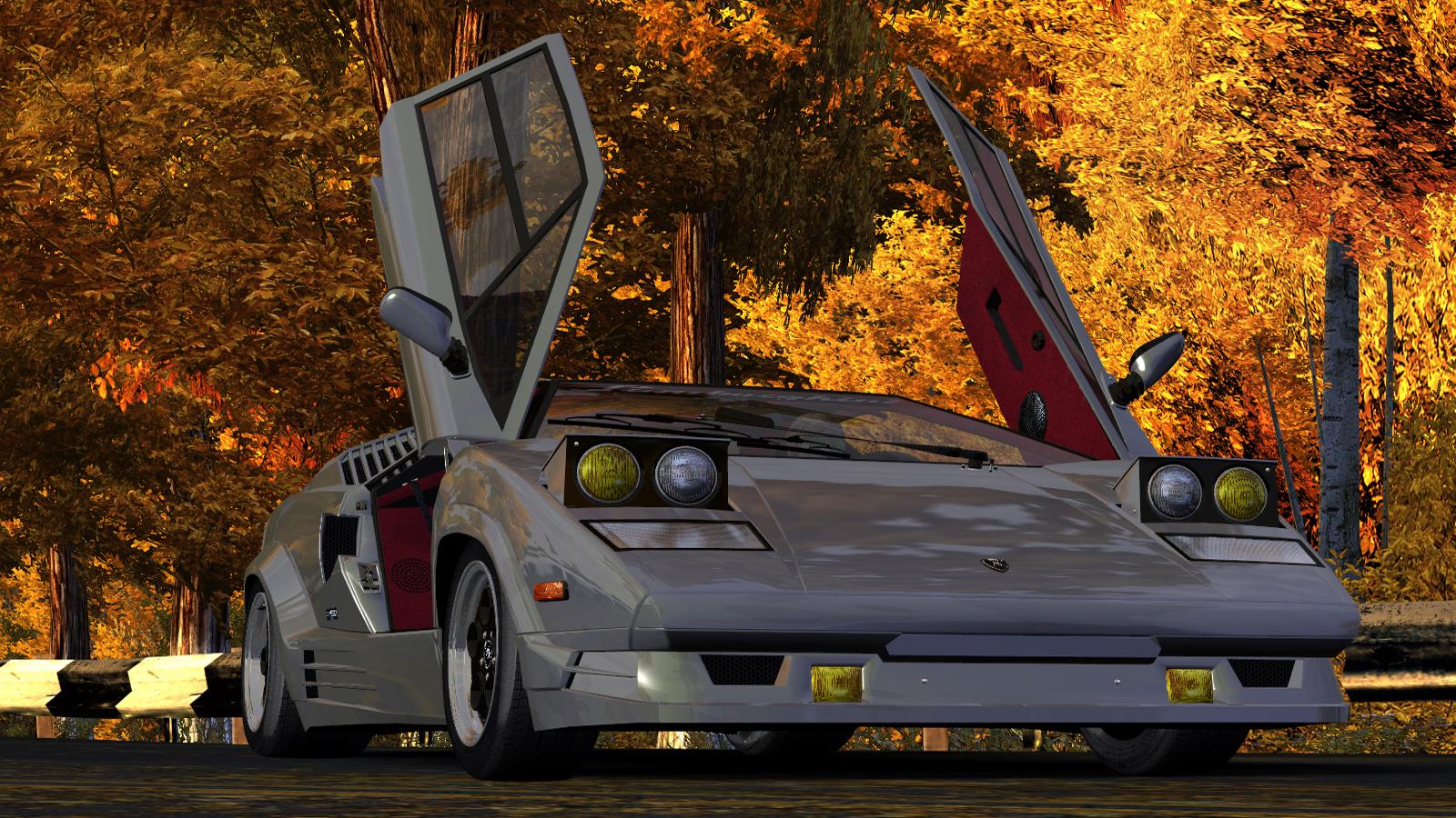 Lamborghini Countach 25th Anniversary by Alex.Ka. - Need for Speed: Most Wanted (2005) Lamborghini Countach, Автомобиль