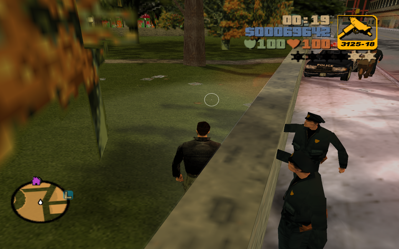 «Очень умные» копы - Grand Theft Auto 3
