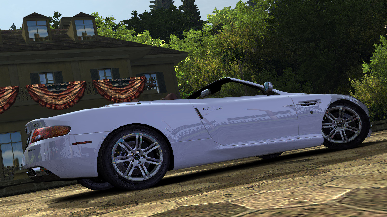 Aston Martin DB9 Volante by Alex.Ka. - Need for Speed: Most Wanted (2005) Автомобиль