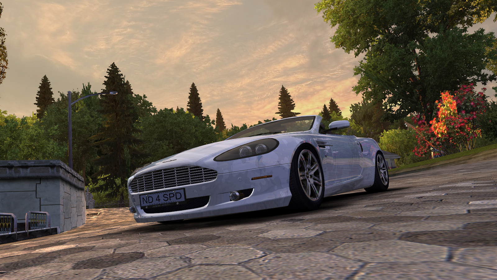 Aston Martin DB9 Volante by Alex.Ka. - Need for Speed: Most Wanted (2005) Автомобиль