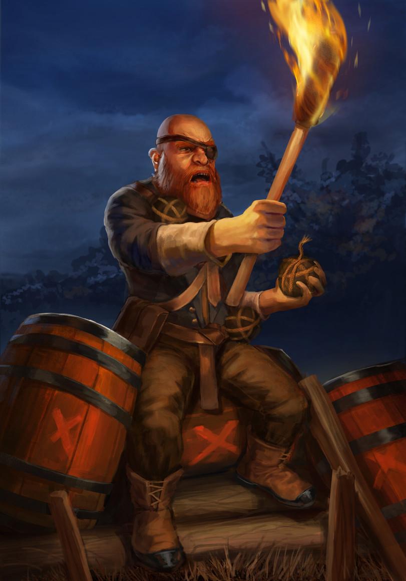 The-Witcher-фэндомы-Казимир-Басси-Anton-Kumetsky-5481772.jpeg - Witcher 3: Wild Hunt, the