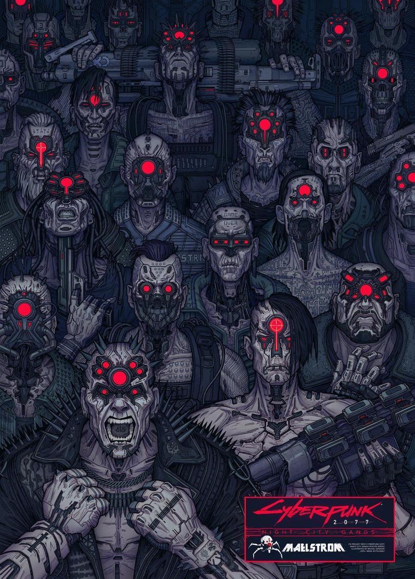 Cyberpunk-2077-Игры-night-city-gangs-постеры-5487403.jpeg - Cyberpunk 2077