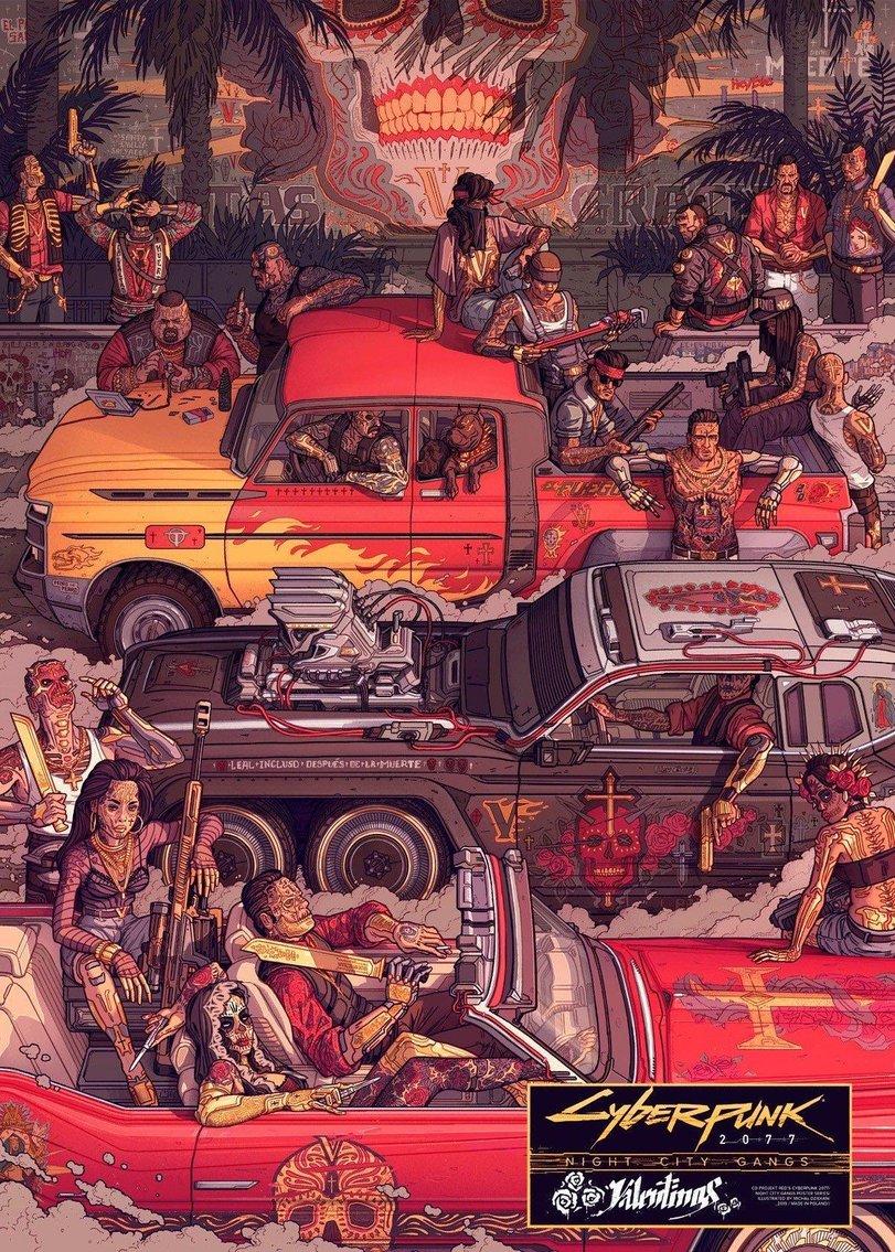 Cyberpunk-2077-Игры-night-city-gangs-постеры-5487404.jpeg - Cyberpunk 2077
