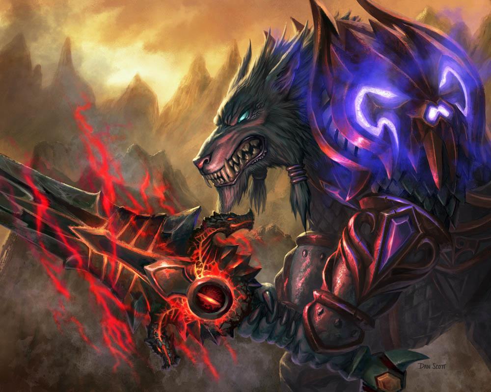 44815-2531863-WorgenDeathKnight.jpg - World of Warcraft