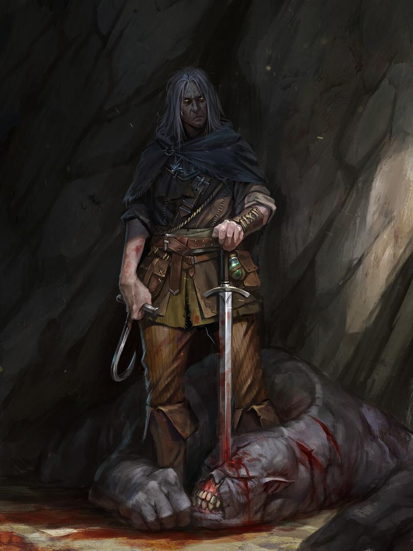 Геральт-из-Ривии-Witcher-Персонажи-The-Witcher-фэндомы-5499929.jpeg - Witcher 3: Wild Hunt, the
