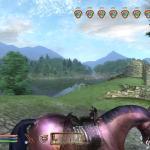 Elder Scrolls 4: Oblivion Каджитка на лошади - скрытность 100%