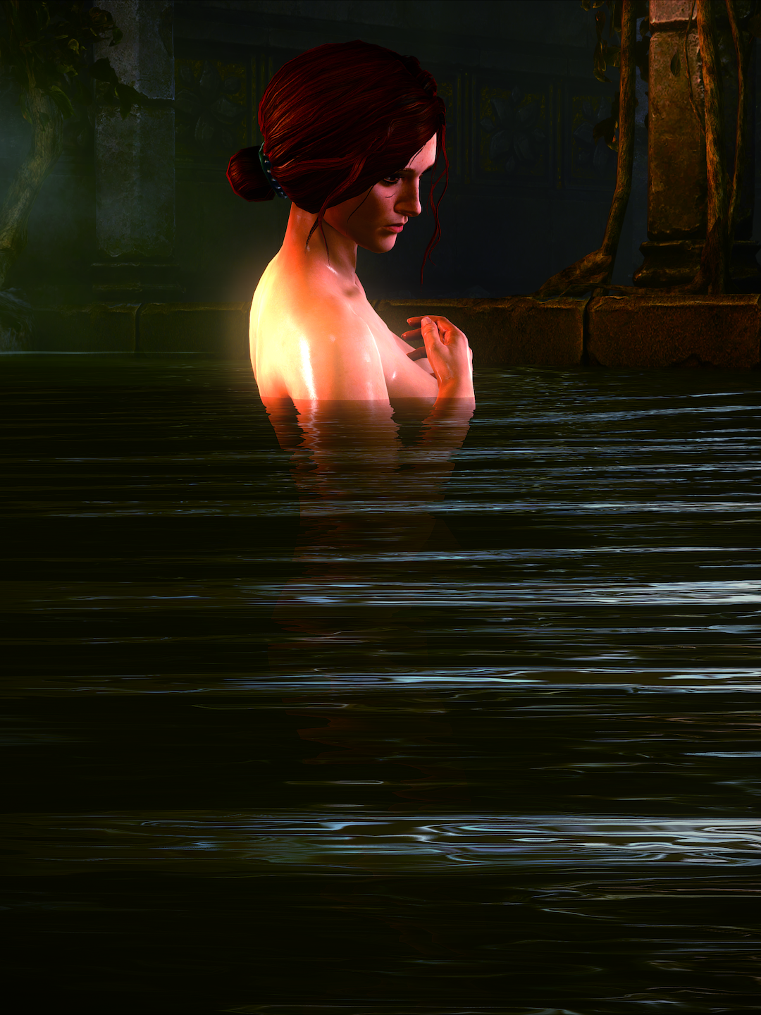 ladyonthewater.png - Witcher 2: Assassins of Kings, the