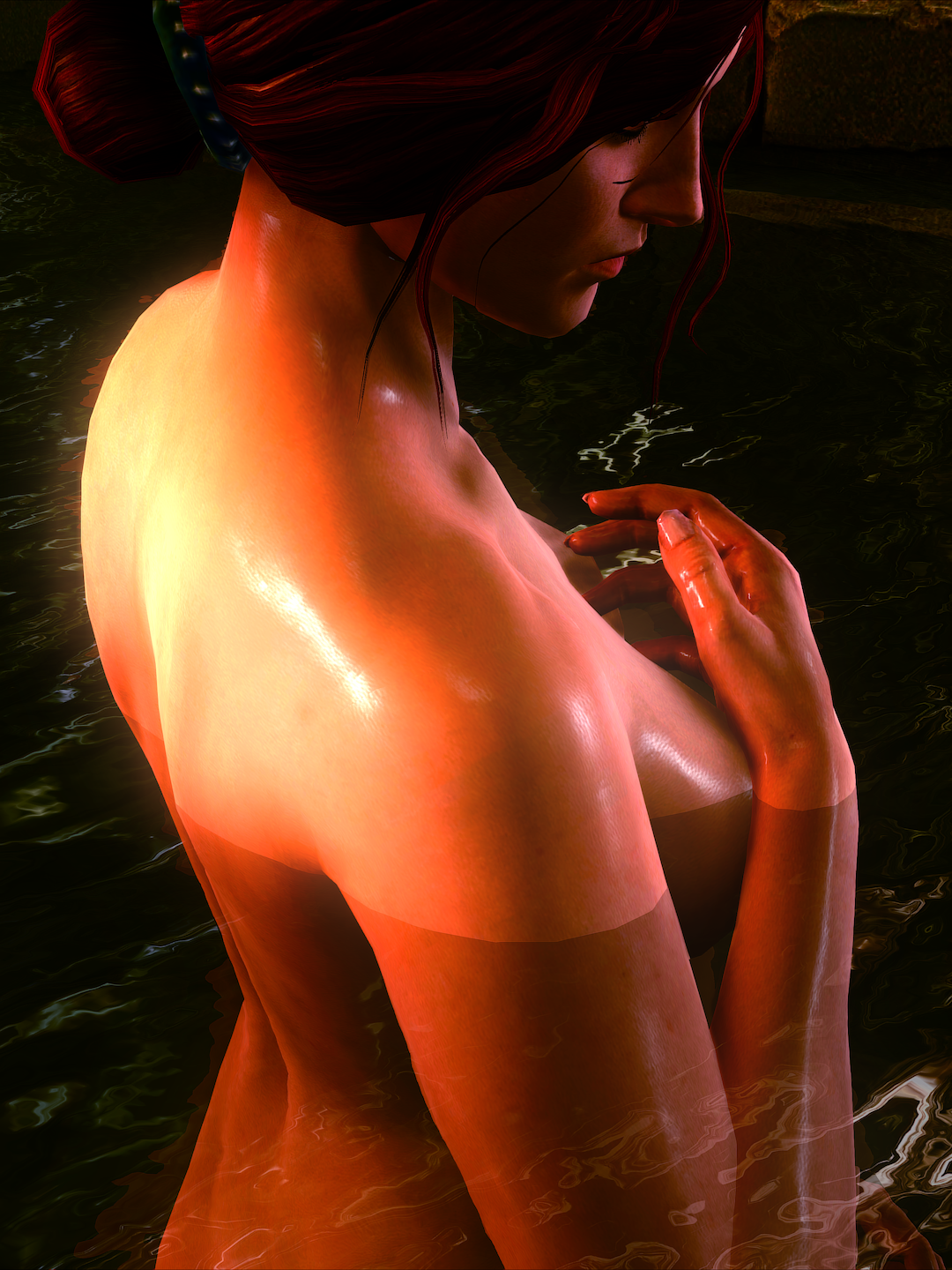 ladyonthewateralt.png - Witcher 2: Assassins of Kings, the