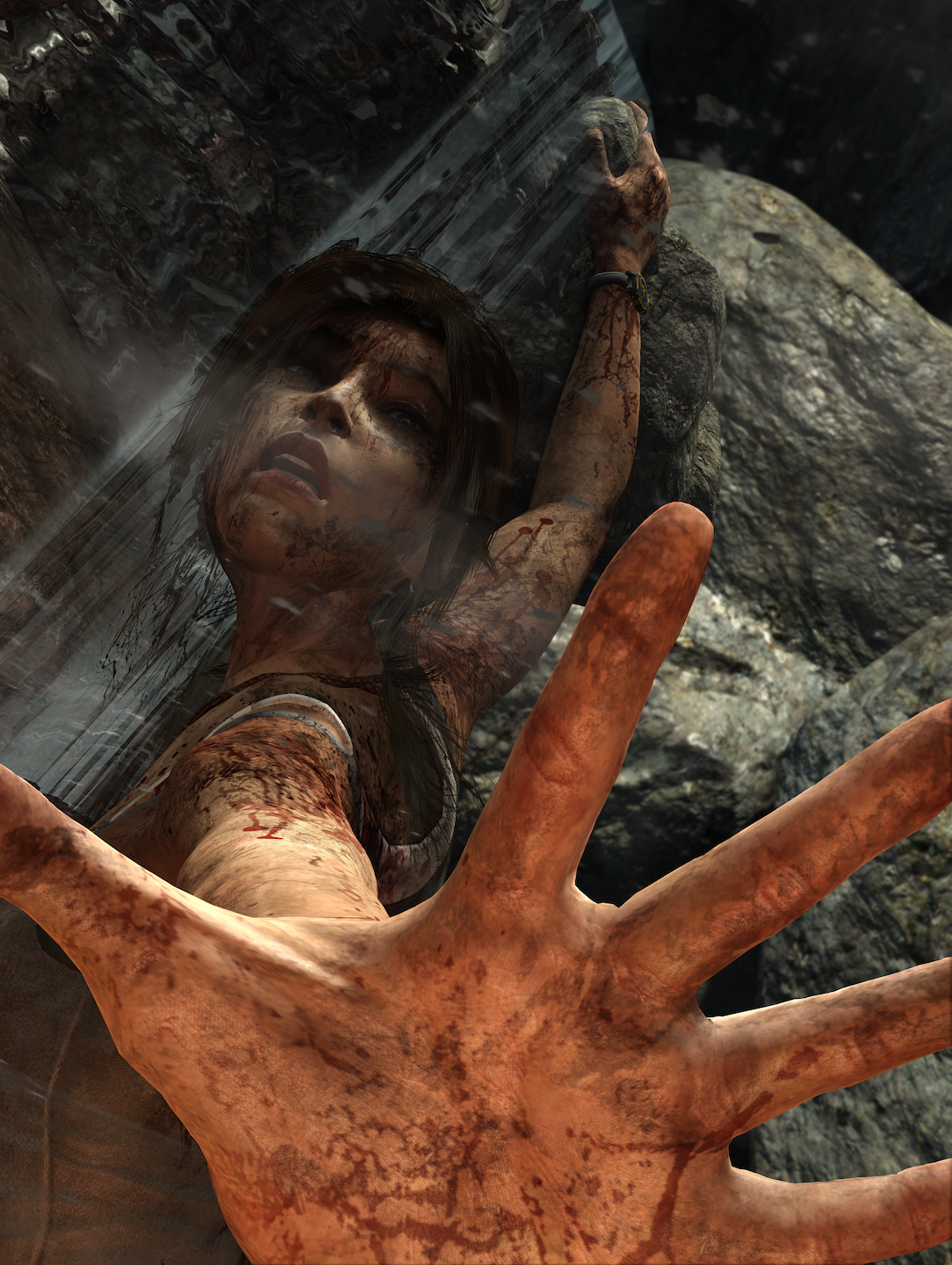 fivelives.png - Tomb Raider (2013)