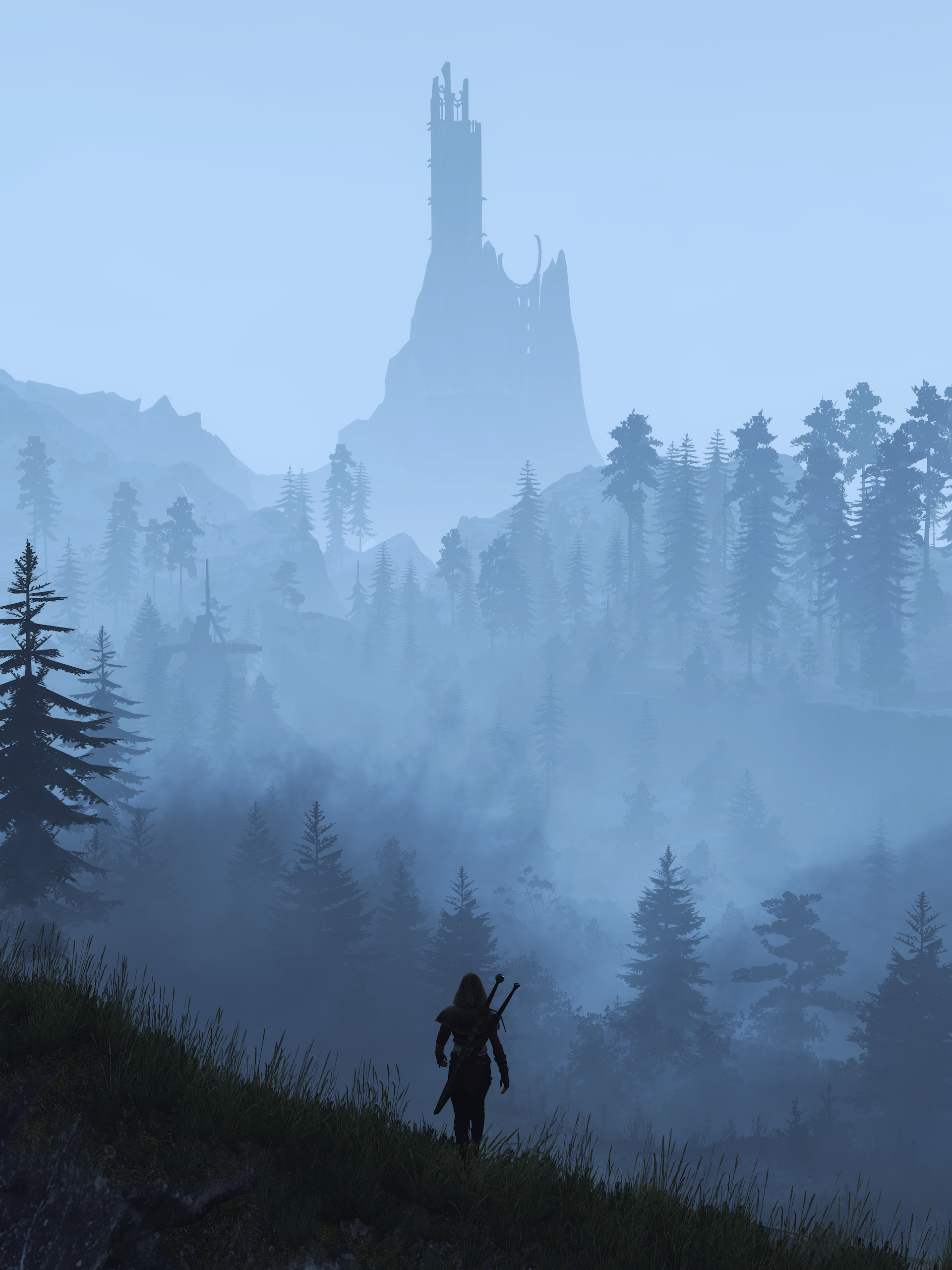 thedistancealt.png - Witcher 3: Wild Hunt, the