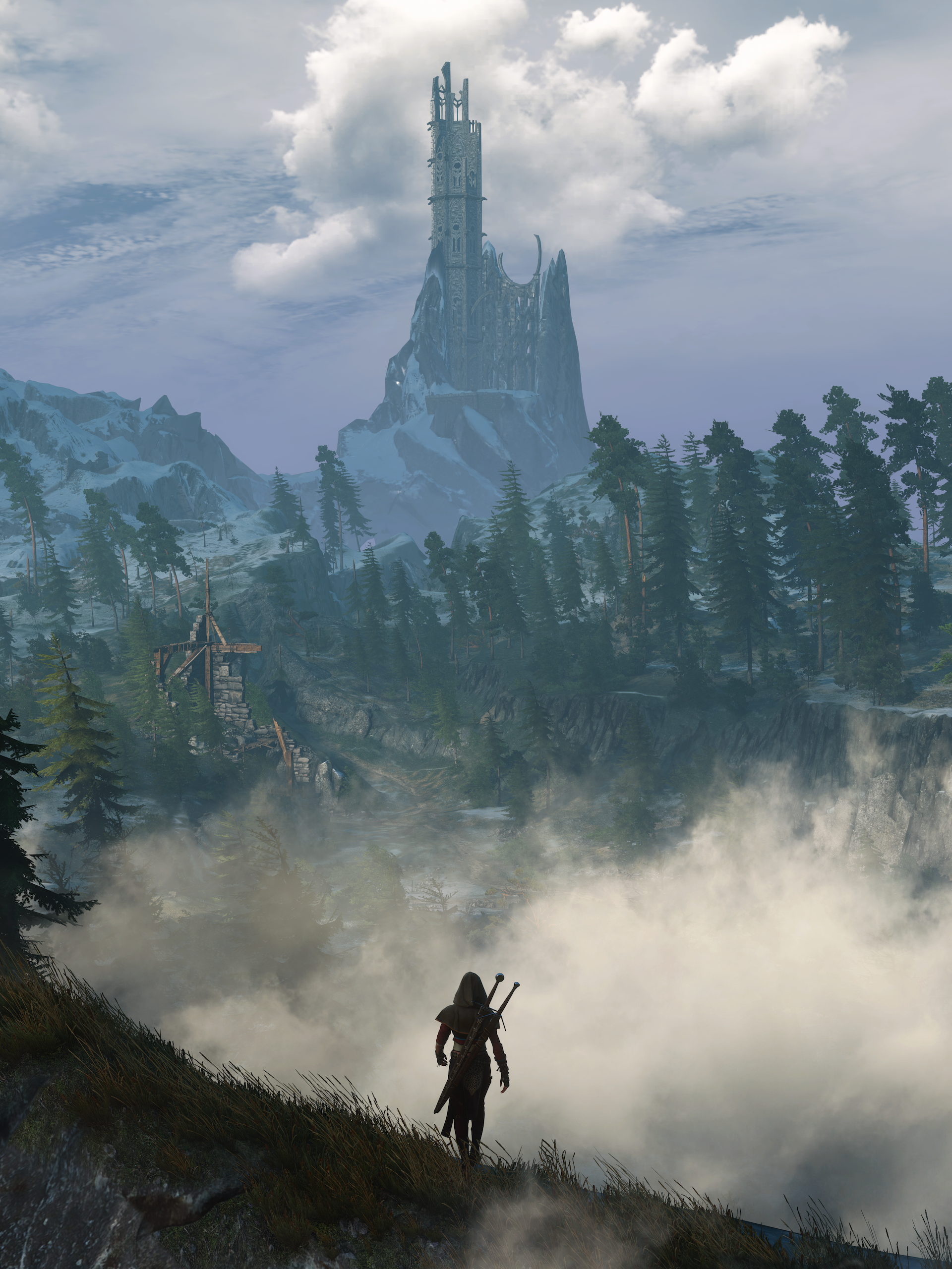 thedistance.png - Witcher 3: Wild Hunt, the