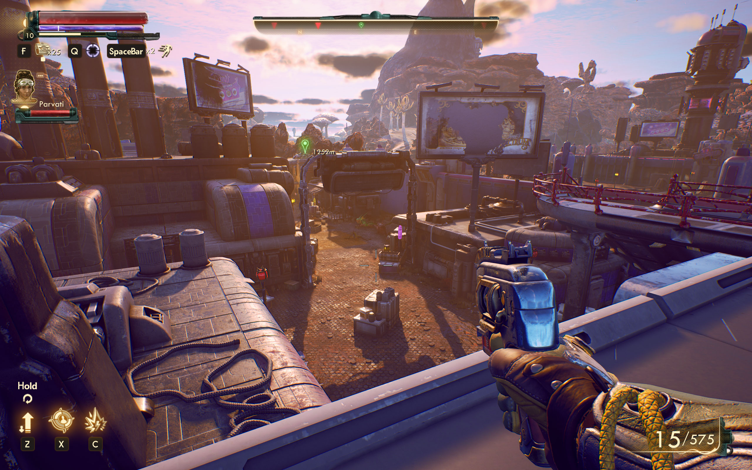 Геймплей - Outer Worlds, the