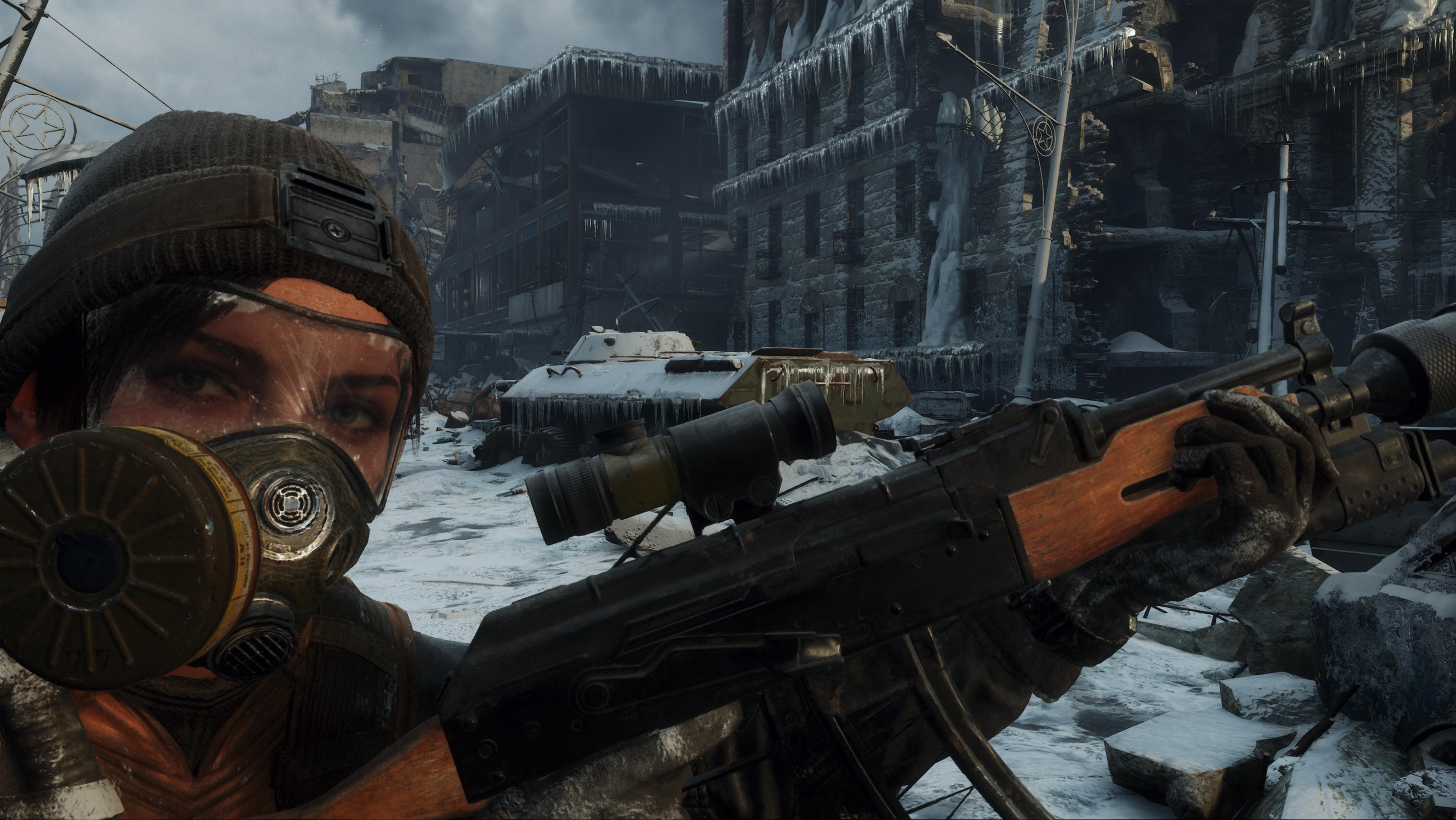 Metro Исход скриншоты с Nvidia GeForce RTX 2080 - Metro Exodus