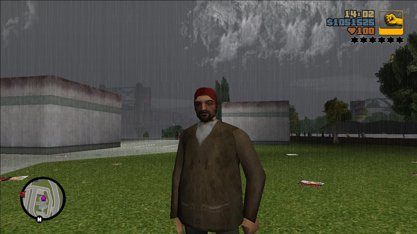 retextures peds - Grand Theft Auto 3