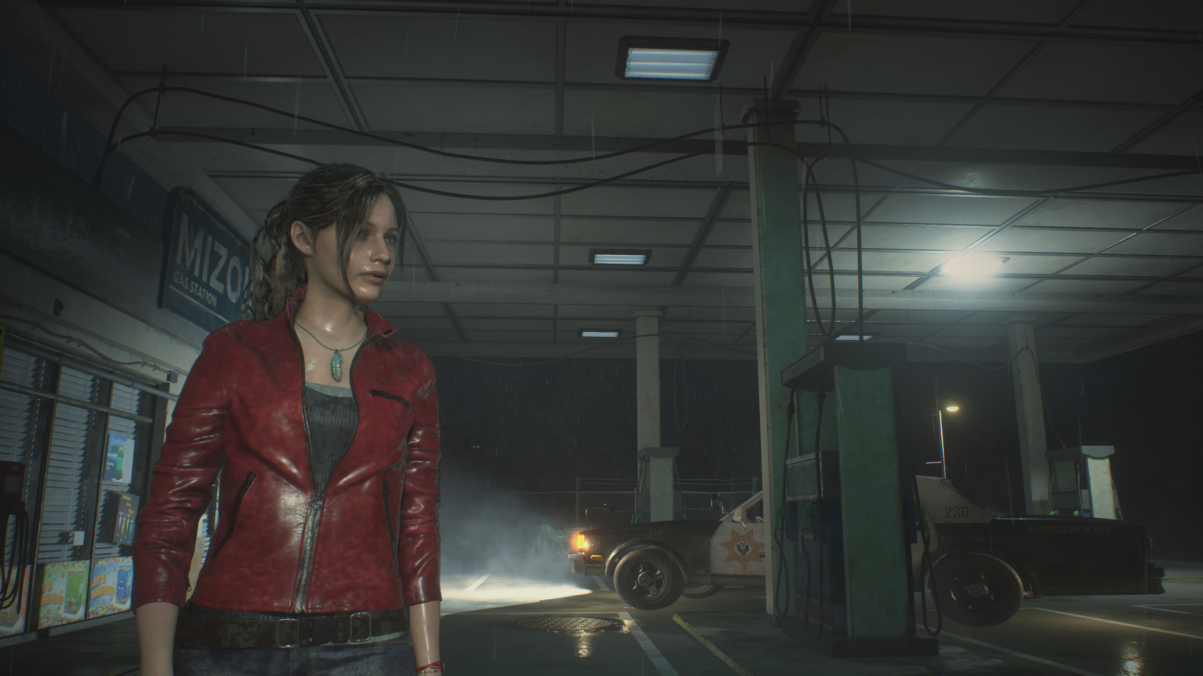 RESIDENT EVIL 2 / BIOHAZARD RE:2 Claire 4k ultra graphics Nvidia GeForce RTX 2080 - Resident Evil 2