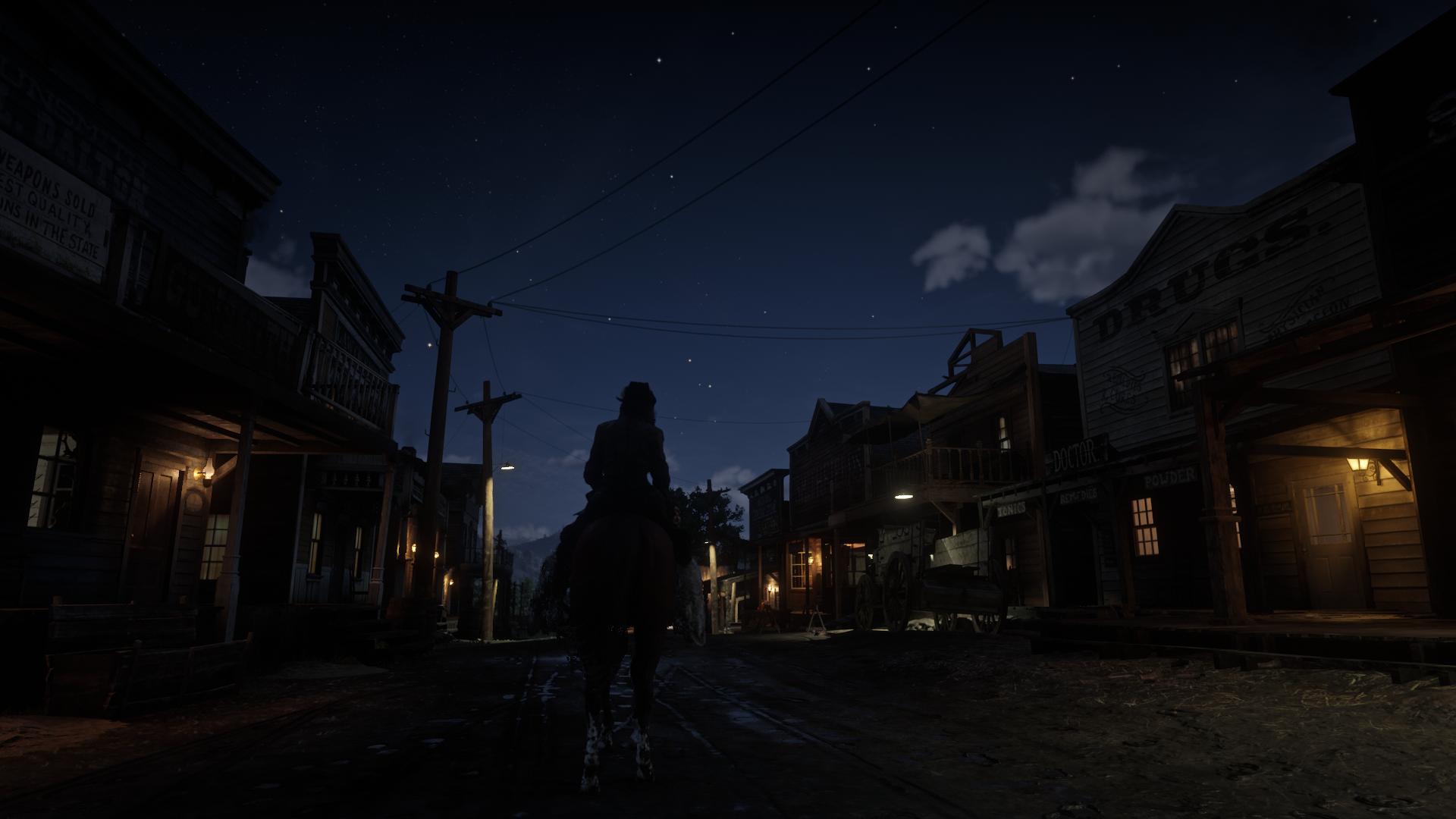 Ночь, улица... - Red Dead Redemption 2