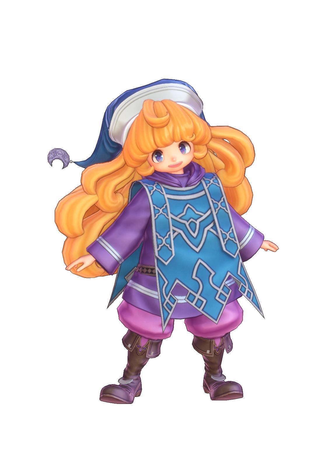 Волшебница - Trials of Mana