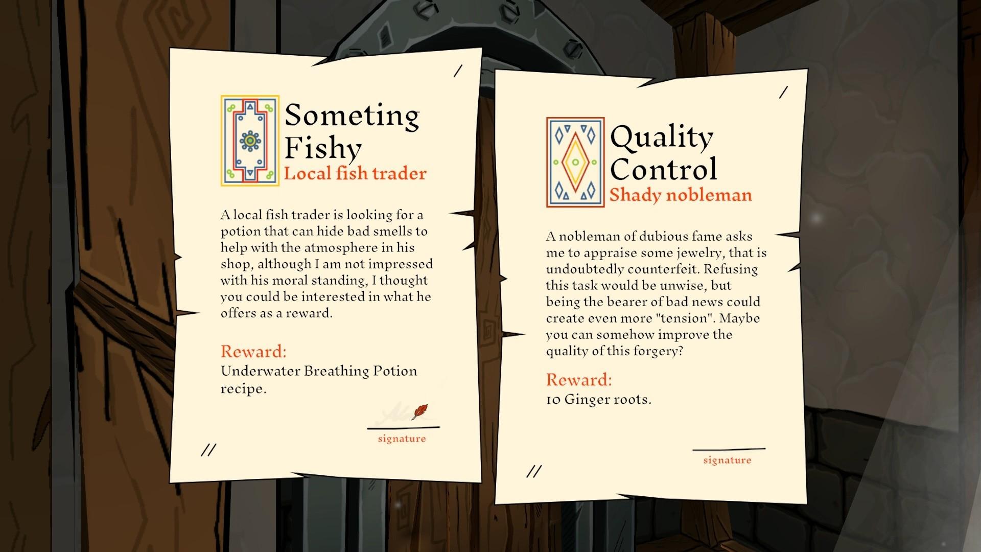 Геймплей - Alchemist Simulator
