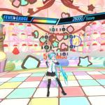 Hatsune Miku VR Геймплей