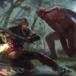 Witcher 3: Wild Hunt Бой с цеметавром