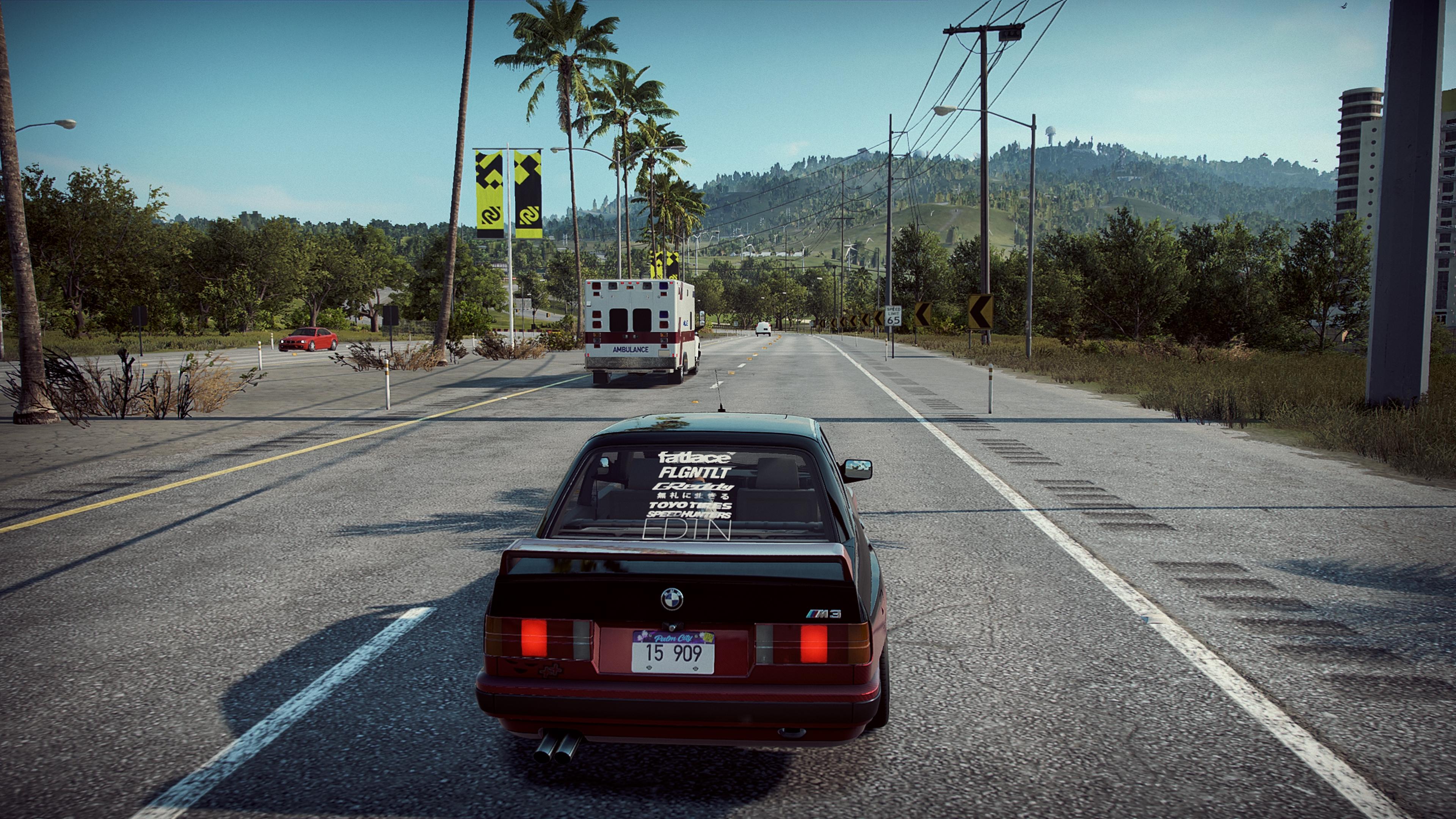 Need for Speed: Heat на ПК скриншоты в 4к на GeForce RTX 2080 - Need for Speed: Heat