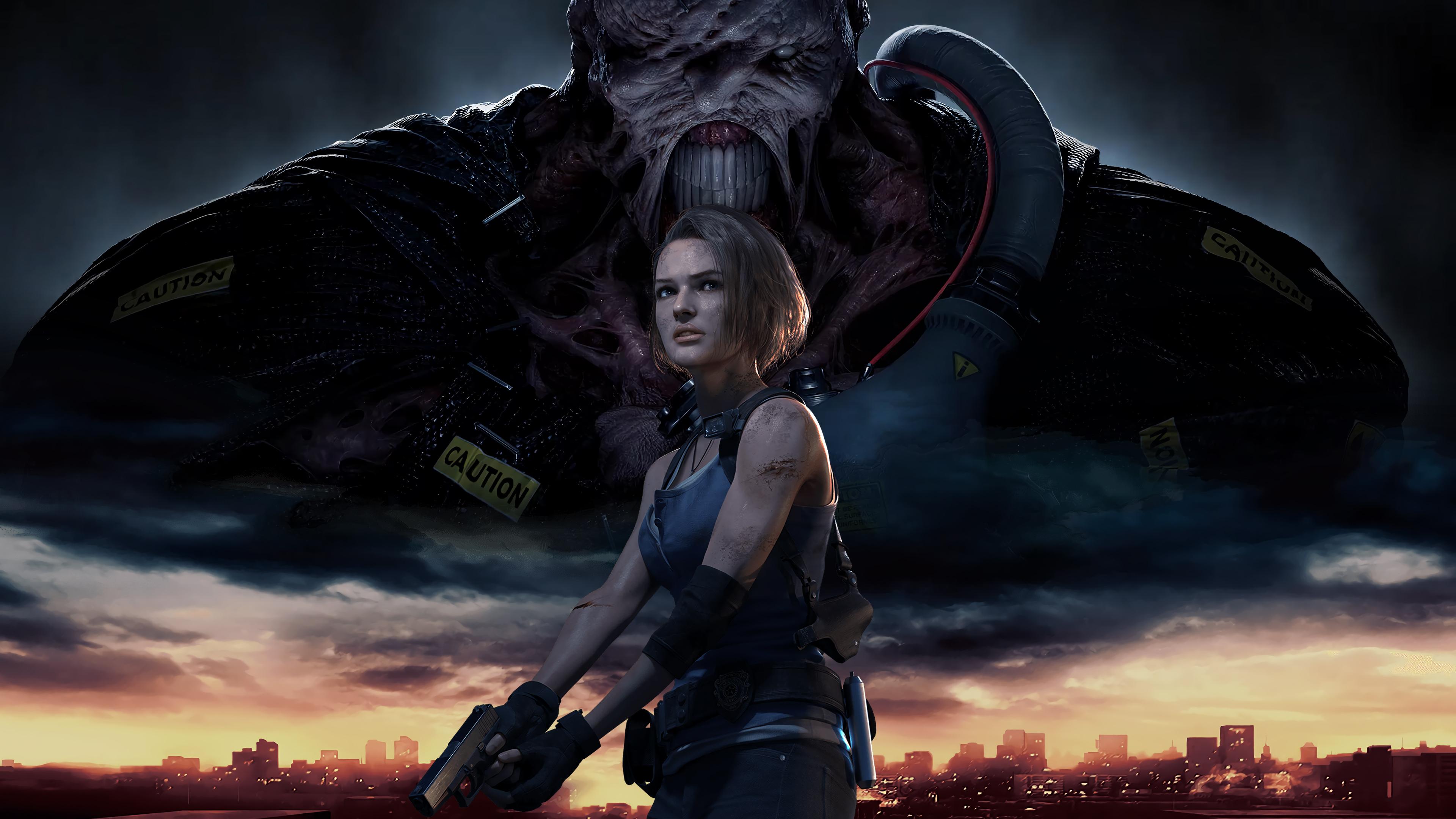 resident-evil-3-remake-jill-valentine-nemesis-uhdpaper.com-4K-7.603.jpg - Resident Evil 3: Nemesis