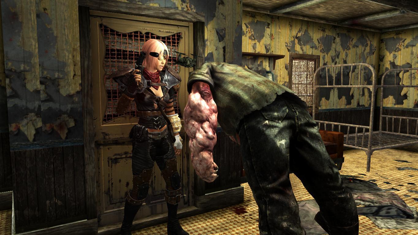 Разборки в маленьком бунгало. - Fallout: New Vegas