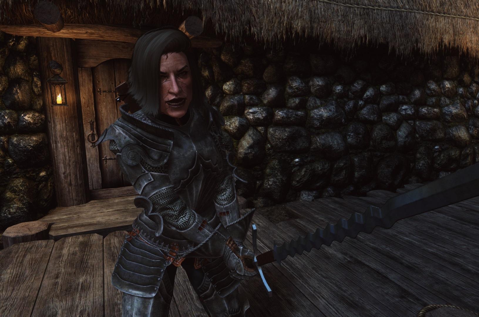 Как бы выглядела женщина воин в реальности скайрима. - Elder Scrolls 5: Skyrim, the