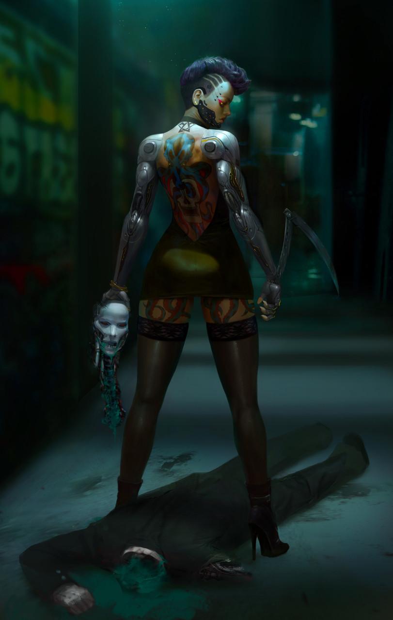 Cyberpunk-2077-Игры-Yoon-Seseon-artist-5630770.jpeg - Cyberpunk 2077