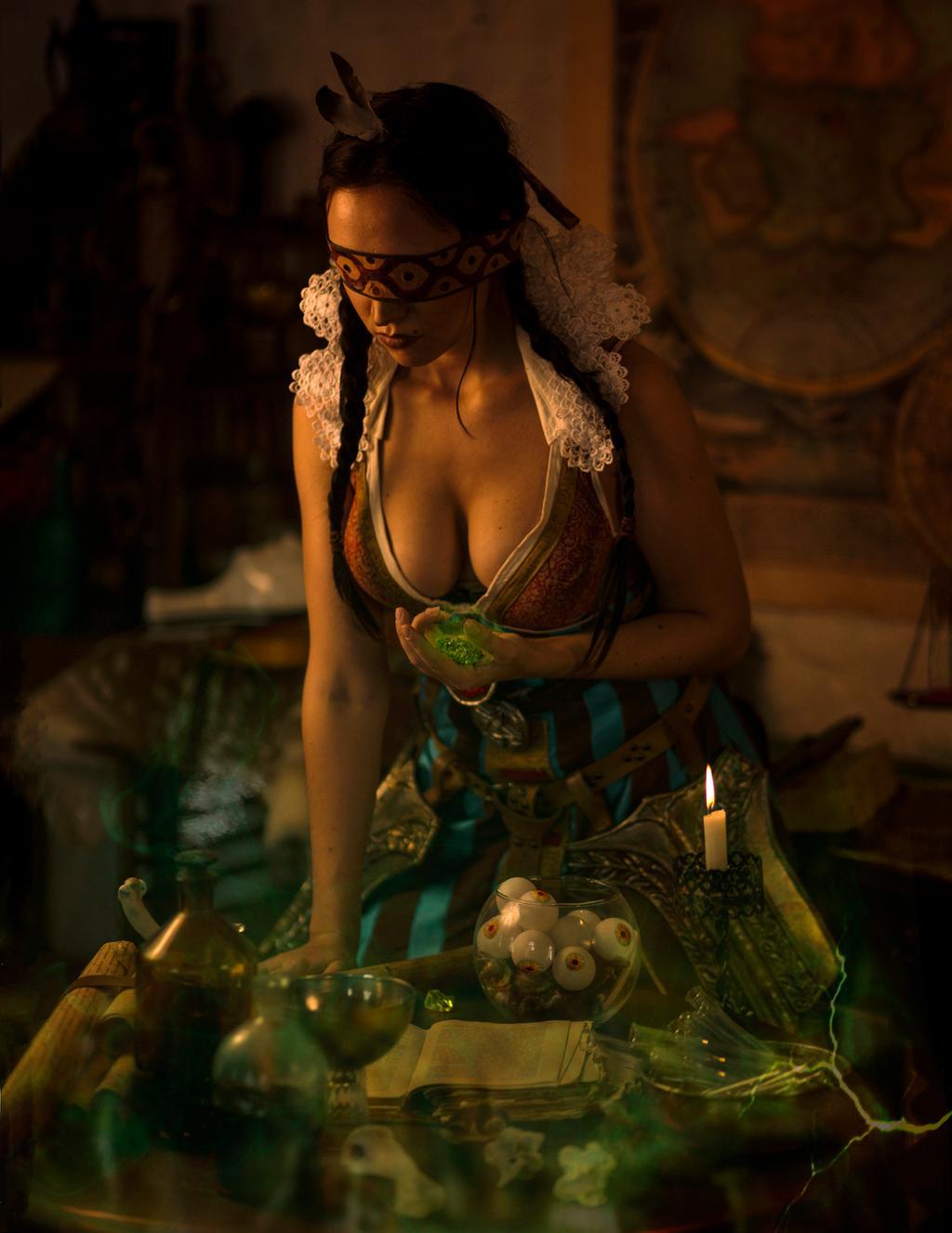 philippa_eilhart_the_witcher_3_cosplay_by_harridana_dd99h65-fullview.jpg - The Witcher 3: Wild Hunt