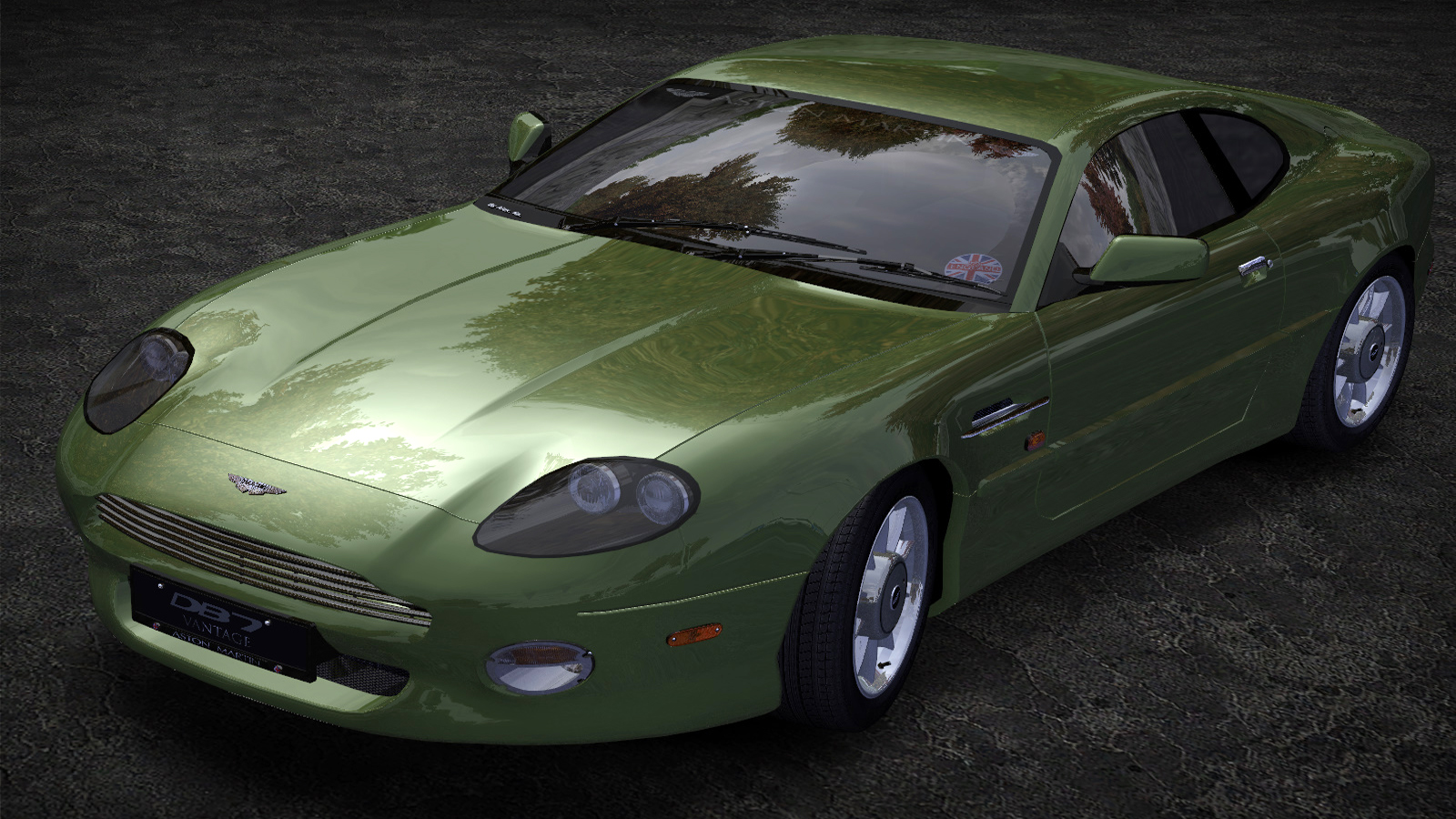 Speed 2020-01-05 19-19-22-829.jpg - Need for Speed: Most Wanted (2005) Aston Martin DB7 Vantage, Автомобиль