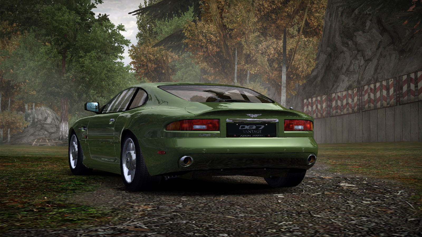 Speed 2020-01-05 19-29-01-994.jpg - Need for Speed: Most Wanted (2005) Aston Martin DB7 Vantage, Автомобиль