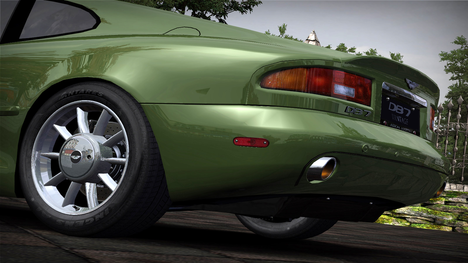 Speed 2020-01-05 19-02-23-814.jpg - Need for Speed: Most Wanted (2005) Aston Martin DB7 Vantage, Автомобиль