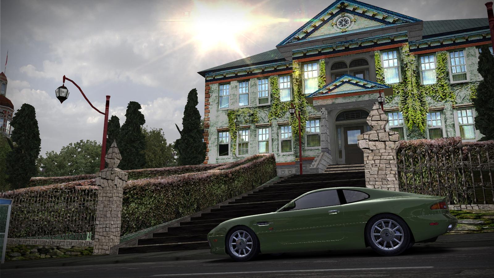Speed 2020-01-05 19-02-35-096.jpg - Need for Speed: Most Wanted (2005) Aston Martin DB7 Vantage, Автомобиль