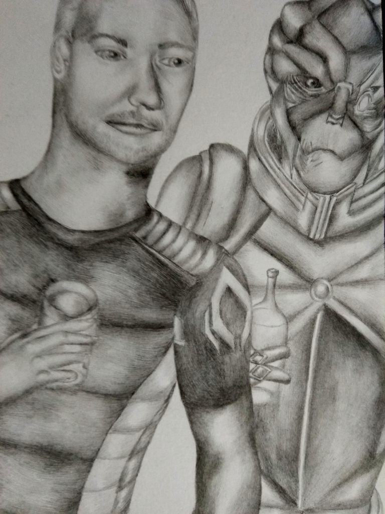Дружеская пьянка - Mass Effect 2