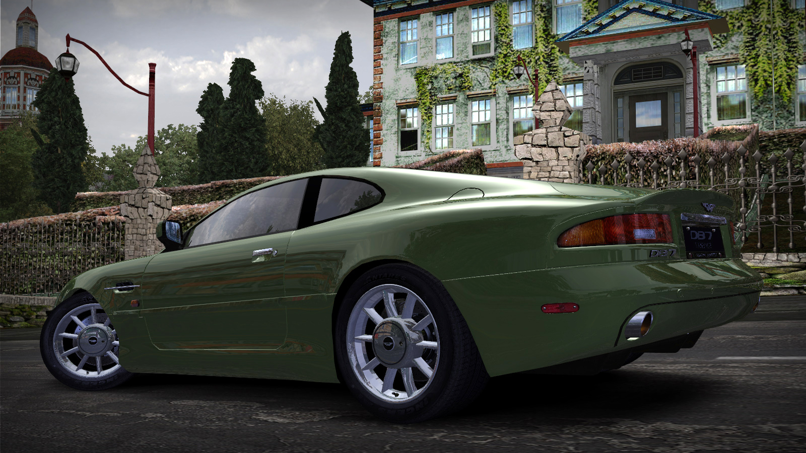 Speed 2020-01-05 18-51-43-913.jpg - Need for Speed: Most Wanted (2005) Aston Martin DB7 Vantage, Автомобиль