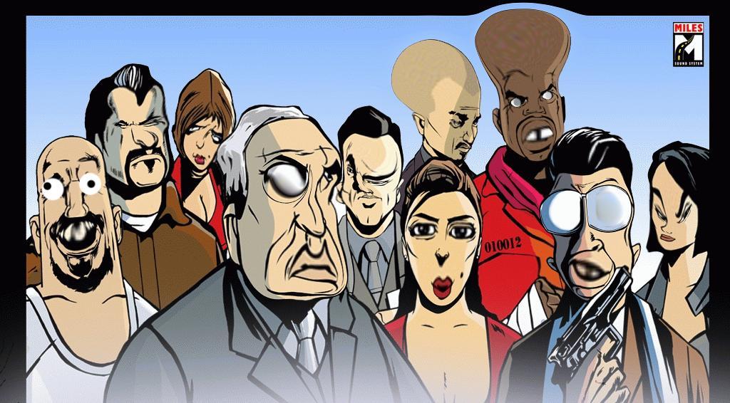 UFO III: Liberty city - Grand Theft Auto 3