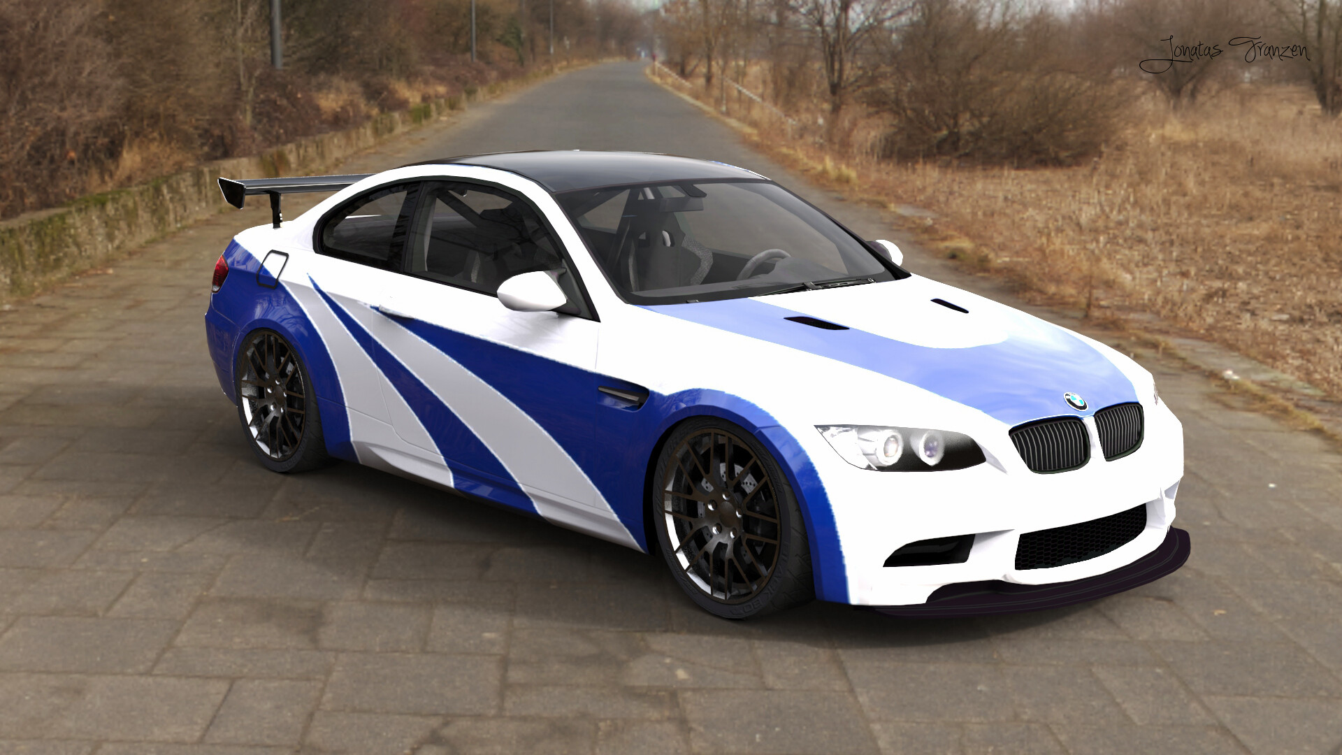 BMW M3 GTR in Real life - Need for Speed: Most Wanted (2005)