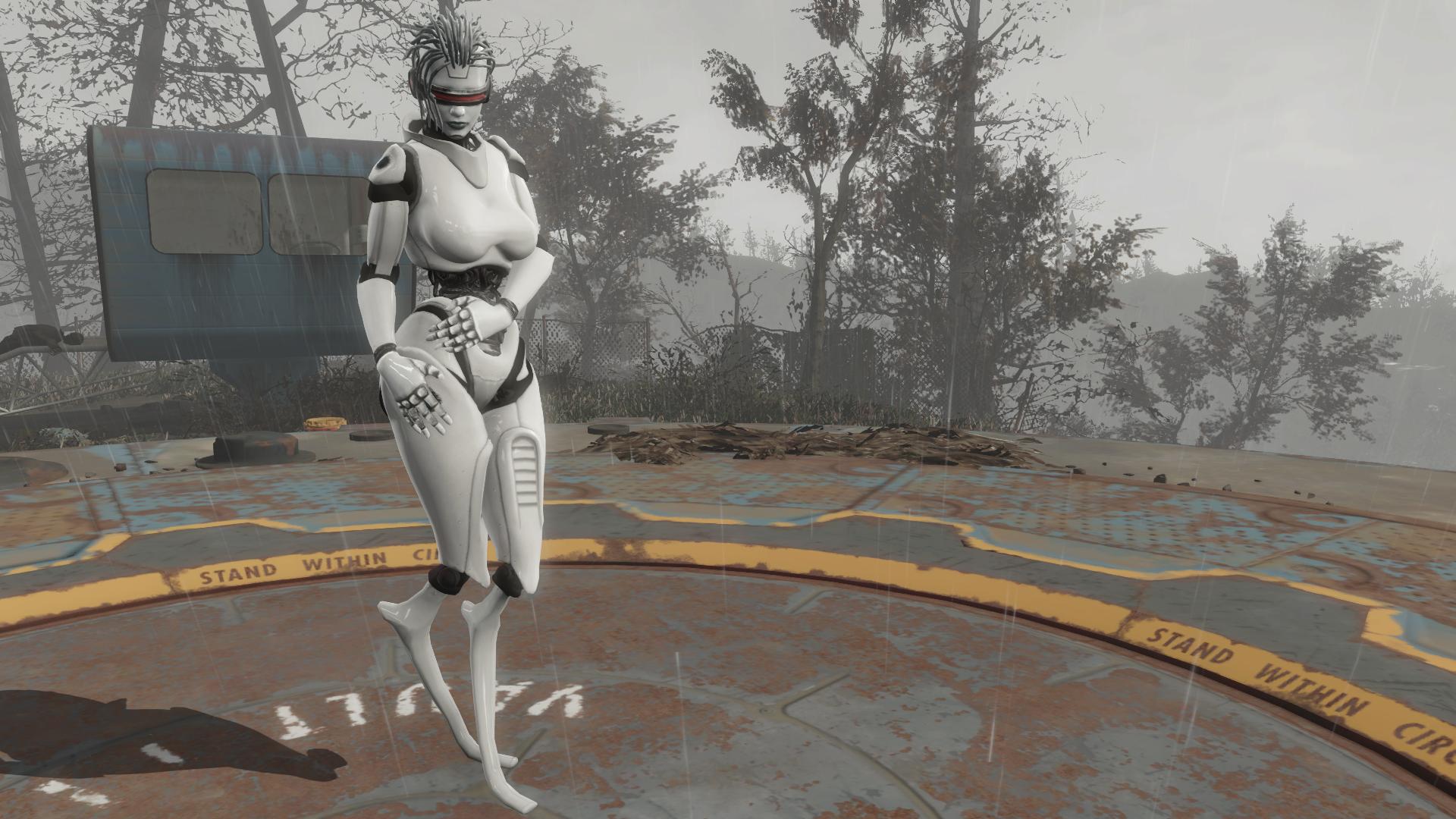 Модель HDLP в окрестностях Сэнкчуари - Fallout 4