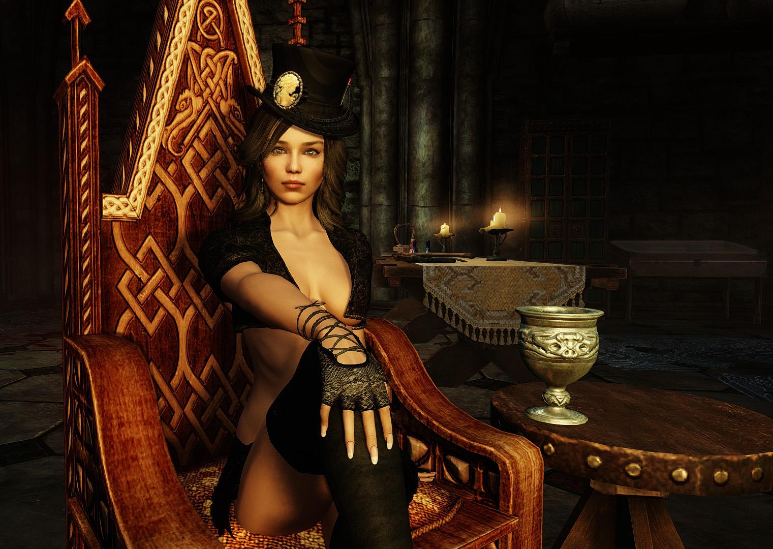 Образ придворной дамы - The Elder Scrolls 5: Skyrim