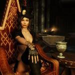 Elder Scrolls 5: Skyrim Образ придворной дамы