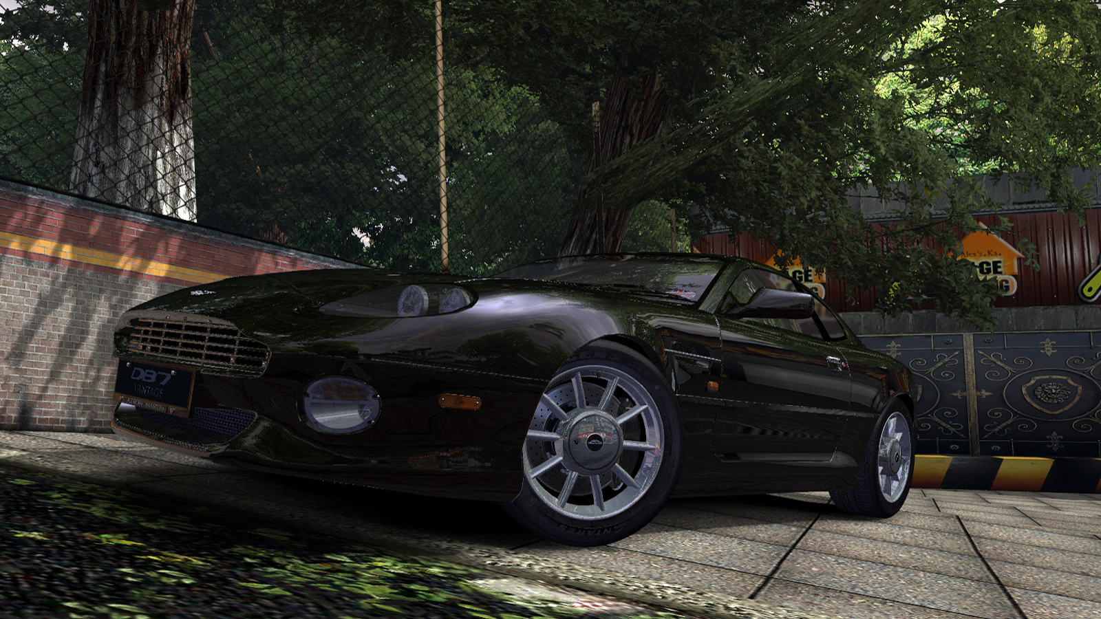 Speed 2020-01-12 19-41-48-916.jpg - Need for Speed: Most Wanted (2005) Aston Martin DB7 Vantage, Автомобиль