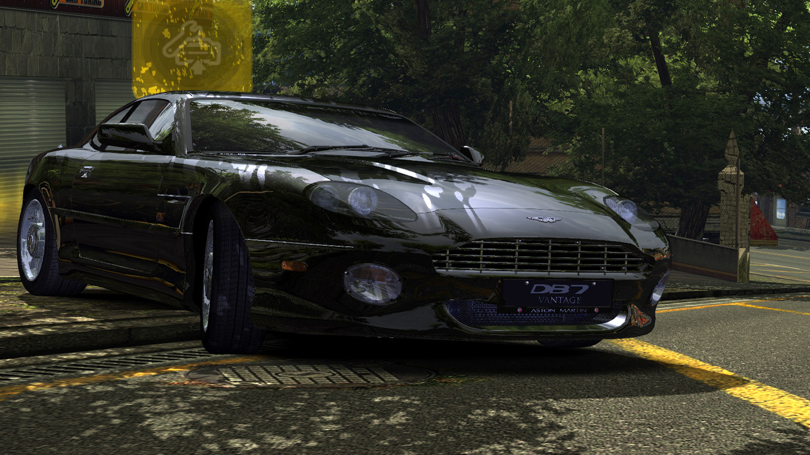 Speed 2020-01-12 19-43-36-541.jpg - Need for Speed: Most Wanted (2005) Aston Martin DB7 Vantage, Автомобиль