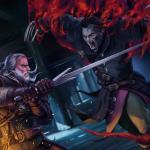 Witcher 3: Wild Hunt Битва с боклерской бестией
